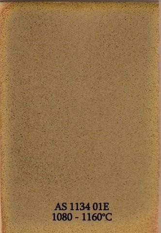 Szkliwo - AS 1134 z efektami - piaskowe jasne matowe