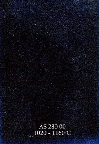 Szkliwo - AS 280 błyszczące - niebieskoczarne