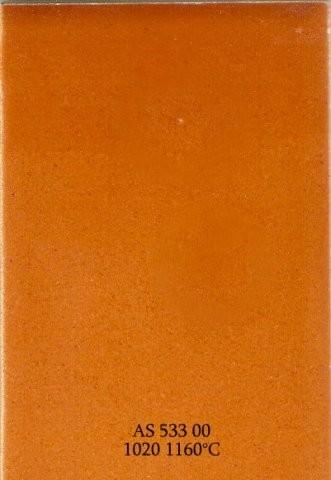 Szkliwo - AS 533 błyszczące - pomarańczowobrązowe