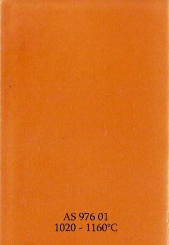 Szkliwo - AS 976 błyszczące - żółtopomarańczowe