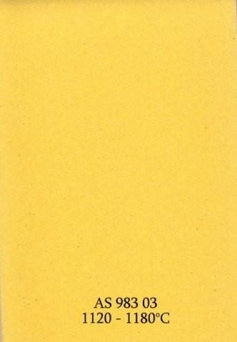 Szkliwo - AS 983 błyszczące - żółte żółtkowe