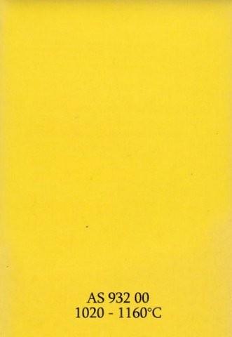 Szkliwo - AS 932 błyszczące - żółte pełne