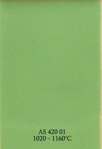 Szkliwo - AS 420 błyszczące - zielone