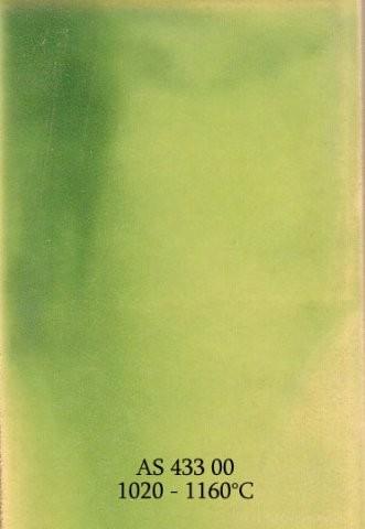 Szkliwo - AS 433 błyszczące - zielone