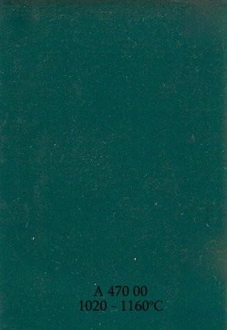 Szkliwo - AS 470 błyszczące - zielononiebieskie