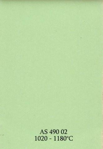 Szkliwo - AS 490 błyszczące - zielone jasne