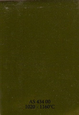 Szkliwo - AS 434 błyszczące - zielone oliwkowe