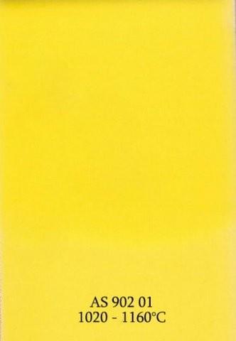 Szkliwo - AS 902 błyszczące - żółte cytrynowe