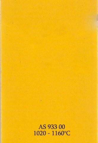 Szkliwo - AS 933 błyszczące - żółte figaro