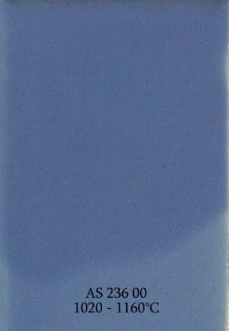 Szkliwo - AS 236 błyszczące - niebieskie pastelowe