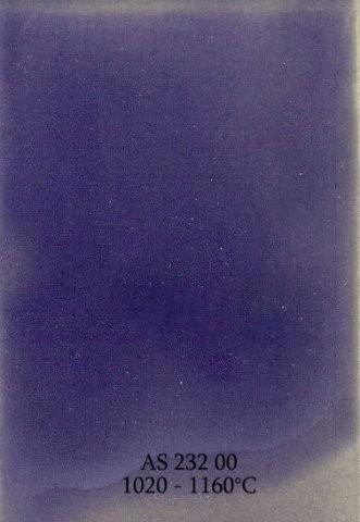 Szkliwo - AS 232 błyszczące - niebieskie pastelowe