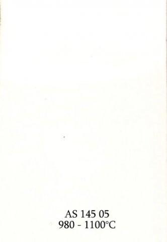 Szkliwo - AS 145 błyszczące - białe kryjące