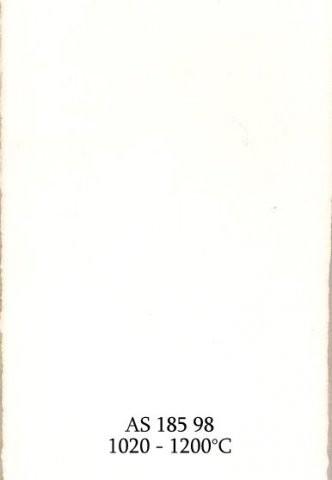 Szkliwo - AS 185 błyszczące - białe kryjące