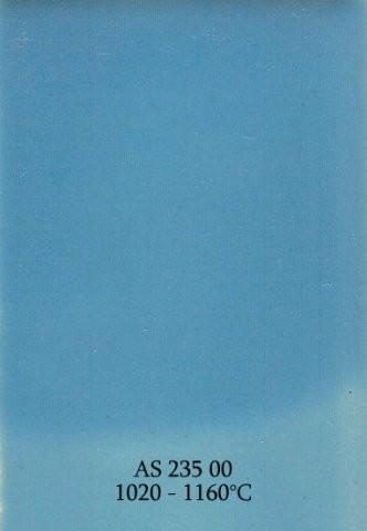 Szkliwo - AS 235 błyszczące - niebieskie
