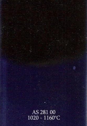 Szkliwo - AS 281 błyszczące - kobaltowe niebieskie