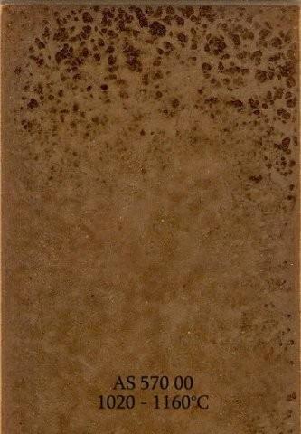 Szkliwo - AS 570 błyszczące - brązowe listrowe