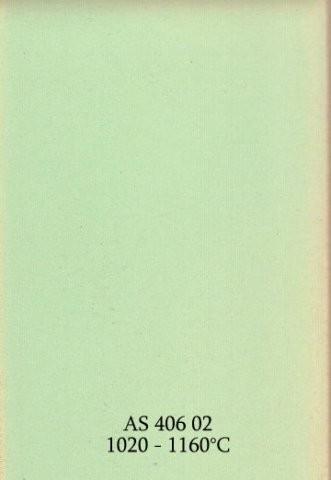Szkliwo - AS 406 błyszczące - jasnozielone
