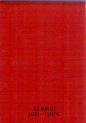 Szkliwo - AS 606 błyszczące - czerwony mak