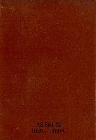 Szkliwo - AS 561 błyszczące - czerwonobrązowe ciemne