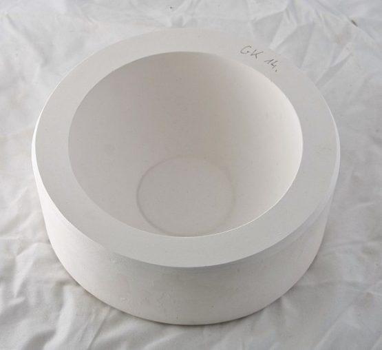 forma gipsowa - miska okrągła mała