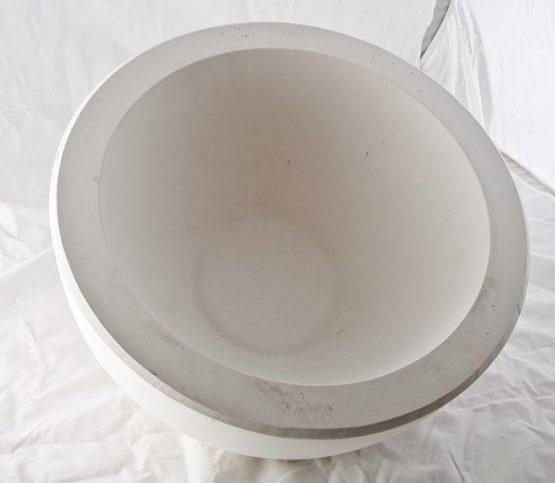 forma gipsowa - salaterka duża