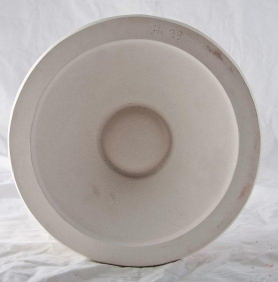 forma gipsowa - miska dwudzielna