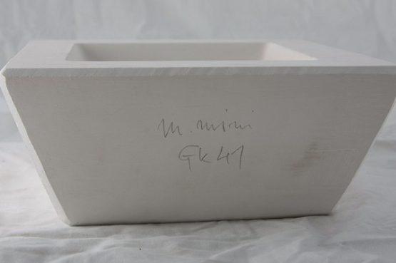 forma gipsowa - miseczka kwadratowa