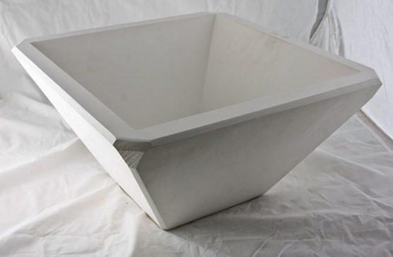 forma gipsowa - miska kwadratowa wielka
