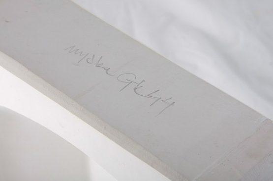 forma gipsowa - miska kwadratowa zaokrąglona
