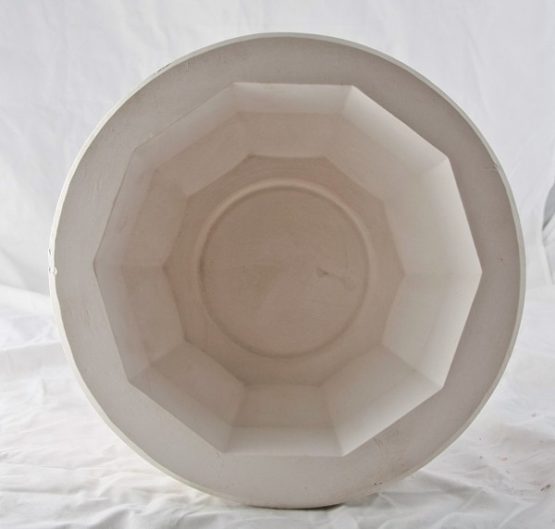 forma gipsowa - salaterka duża graniasta