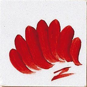 farba majolikowa TC - czerwona intensywna