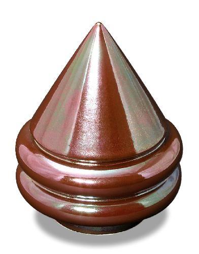 szkliwo TC2220 - czerwonozielone lustrowe