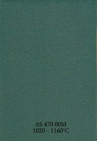 Szkliwo - AS 470M matowe - zielononiebieskie
