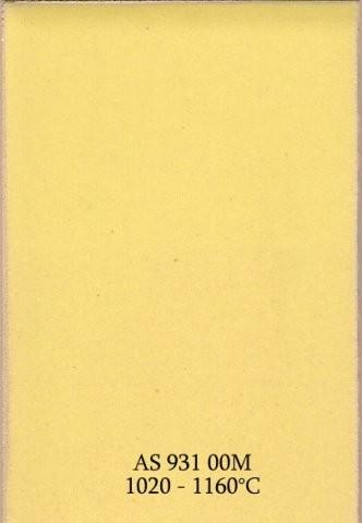 Szkliwo - AS 931M matowe - żółte