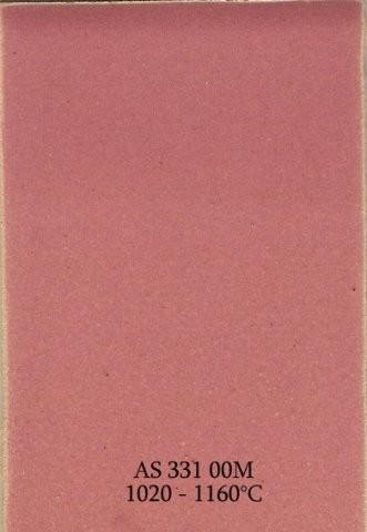 Szkliwo - AS 331M matowe - różowe