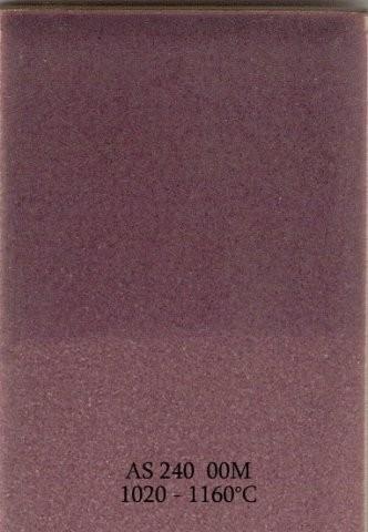 Szkliwo - AS 240M matowe - fioletowe