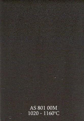 Szkliwo - AS 801M matowe - czarne