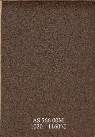 Szkliwo - AS 566M matowe - brązowo czarne