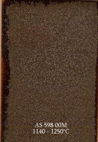 Szkliwo - AS 598M matowe - brązowe półmatowe