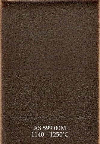 Szkliwo - AS 599M matowe - brązowe metalizujące