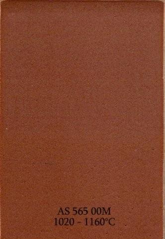 Szkliwo - AS 565M matowe - brązowe