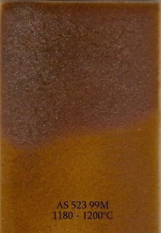 Szkliwo - AS 523M matowe - brązowe