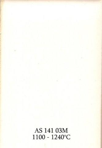 Szkliwo - AS 141M matowe - białe