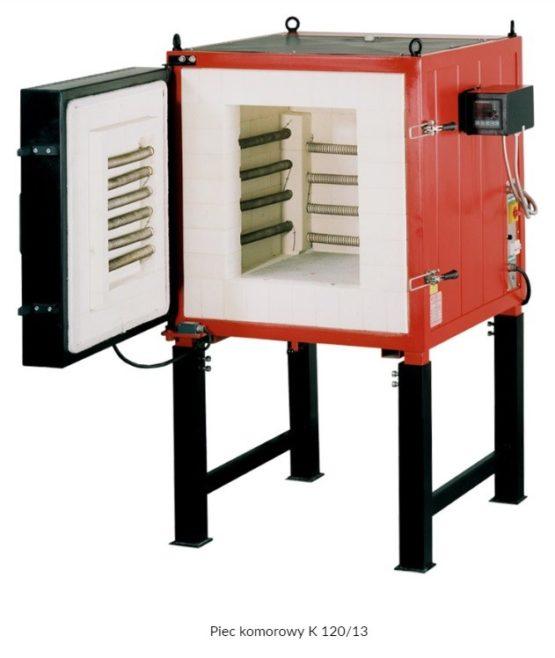 Piec komorowy K do 1300 / 1340 / 1400 °C