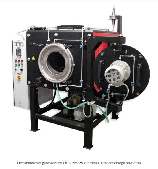 Piec komorowy gazoszczelny PKRC z retortą do 950 / 1100 °C