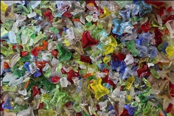 granulat szklany - MIX (19) ok. 300g